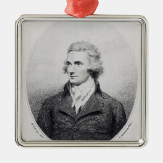 Mungo Park, engraved by T. Dickinson Metal Ornament