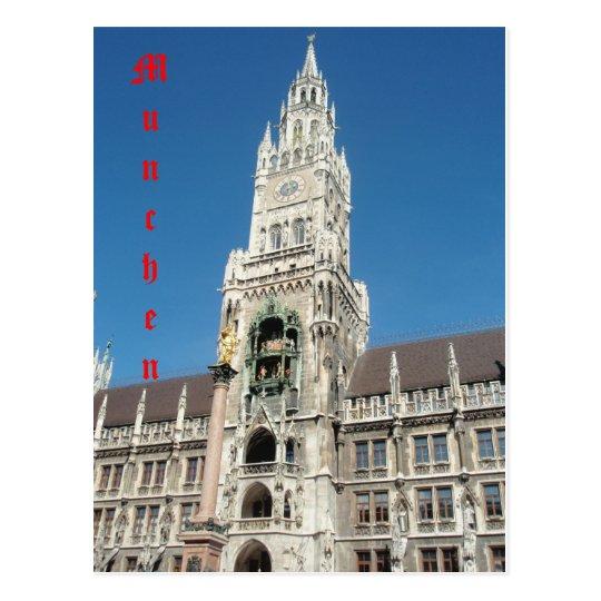 munich 001, Munchen Postcard