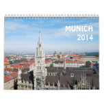Munich 2014 calendar