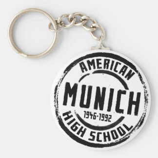 Munich American High School Stamp A004 Keychain