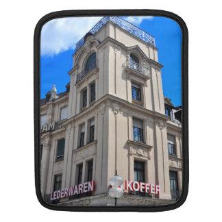 Munich architecture iPad sleeves