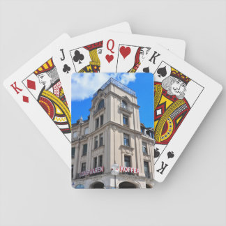 Munich architecture playing cards