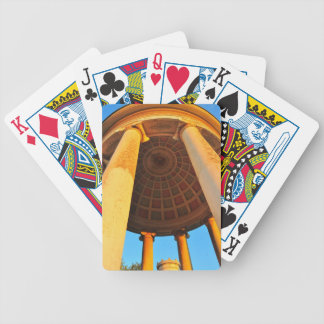 Munich architecture bicycle playing cards