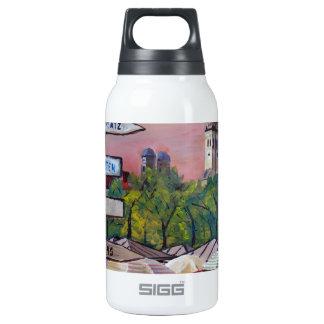 Munich Bavaria Viktualienmarkt With Signposts 10 Oz Insulated SIGG Thermos Water Bottle