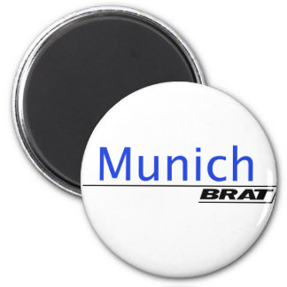 Munich Brat -A001 2 Inch Round Magnet