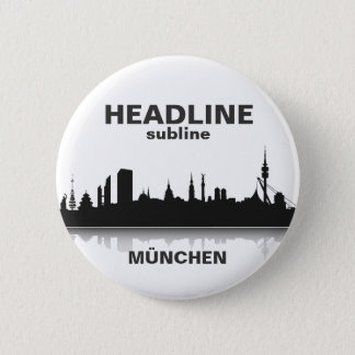 Munich button/Anstecker/pin Pinback Button