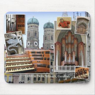 Munich Cathedral mousepad
