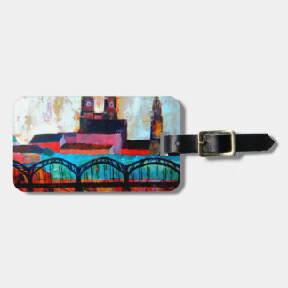 Munich Central Station With Hackerbridge Travel Bag Tag
