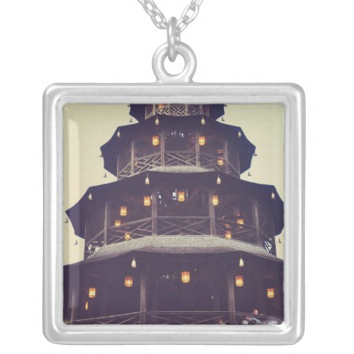 Munich chinese tower necklaces
