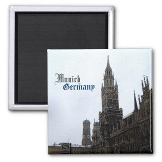 Munich City Hall Germany Travel Souvenir Refrigerator Magnets