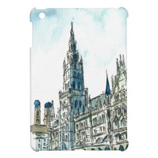 Munich city Hall Marienplatz iPad Mini Cover