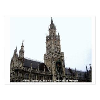 Munich City Hall Post Cards