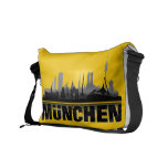 Munich city of skyline - curing ashes/Sidebag Courier Bag