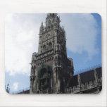 Munich Clock Tower Marienplatz Mouse Mats