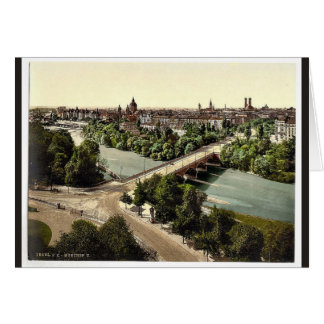 Munich del Maximilianeum, Baviera, Alemania VI Tarjeta