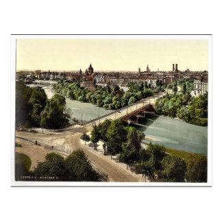Munich del Maximilianeum, Baviera, Alemania VI Tarjeta Postal