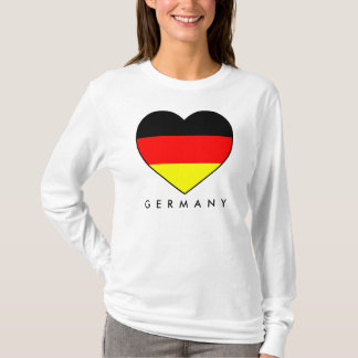 Munich football Germany Hoody with heart