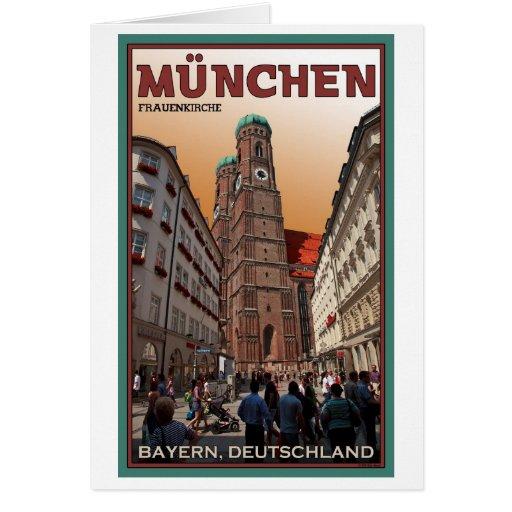 Munich - Frauenkirche Felicitación