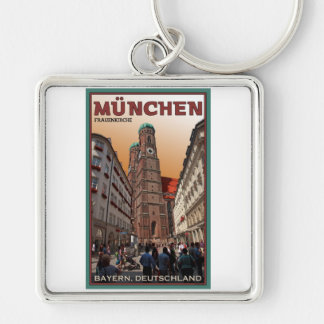 Munich - Frauenkirche Keychain