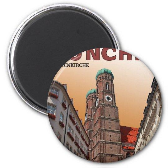 Munich - Frauenkirche Magnet