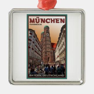 Munich - Frauenkirche Metal Ornament