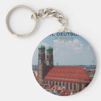 Munich Frauenkirche (Portrait) Keychain