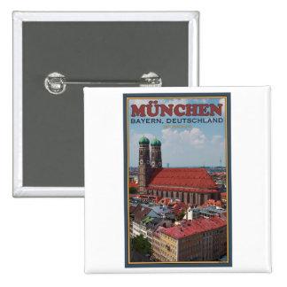 Munich Frauenkirche (retrato) Pin