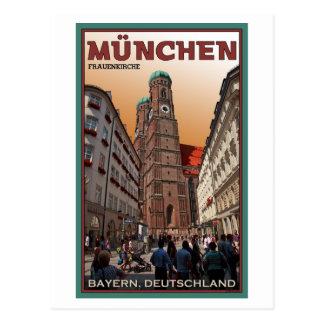 Munich - Frauenkirche Postales