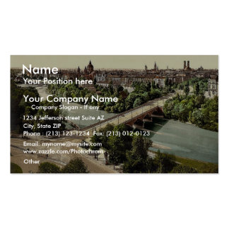 Munich from the Maximilianeum, Bavaria, Germany vi Business Cards