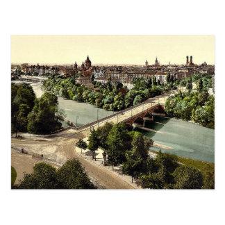 Munich from the Maximilianeum, Bavaria, Germany vi Postcard