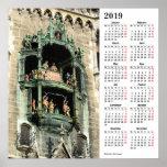 Munich, Germany 2019 Calendar Poster
