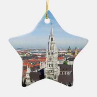 Munich, Germany Christmas Tree Ornament
