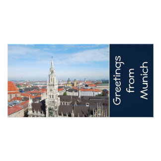 Munich, Germany Photo Card