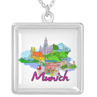 Munich - Germany.png Custom Necklace