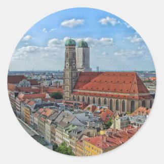 Munich, Germany Classic Round Sticker