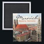 "Munich Germany Travel Photo Fridge Magnets<br><div class=""desc"">Munich Germany Travel Souvenier Fridge Magnet</div>"