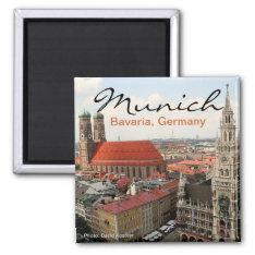 Munich Germany Travel Photo Fridge Magnets at Zazzle