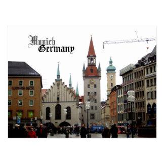 Munich Germany Travel Souvenir Postcard