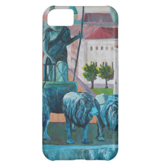 Munich Leopold Str. With Bavaria And Alps Case For iPhone 5C