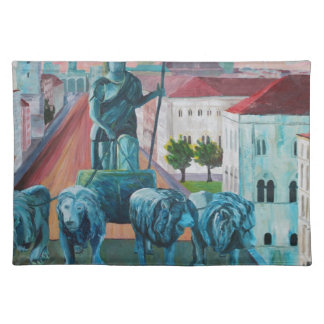 Munich Leopold Str With Bavaria And Alps Placemats