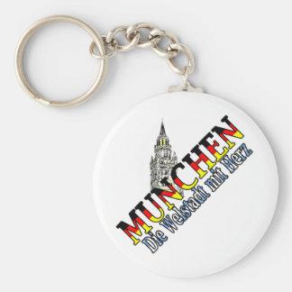 Munich Llavero Personalizado