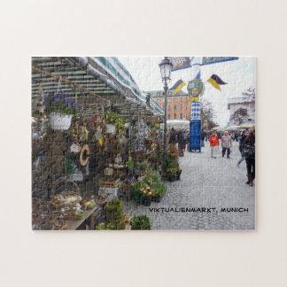 Munich Market (Viktualienmarkt) Puzzles