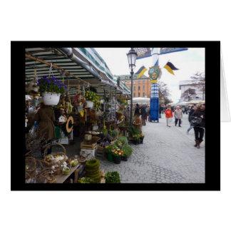 Munich Market (Viktualienmarkt) Stationery Note Card