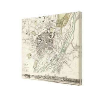 Munich Muenchen Stretched Canvas Prints