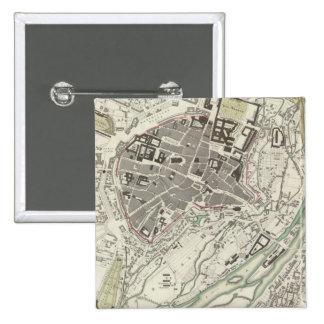 Munich Muenchen Pin Cuadrado