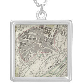 Munich Muenchen Silver Plated Necklace