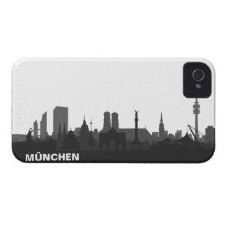 Munich skyline iPhone 4/4s sleeve/Case Case-Mate iPhone 4 Case