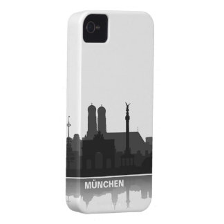 Munich skyline iPhone 4/4s sleeve/Case Case-Mate iPhone 4 Cases