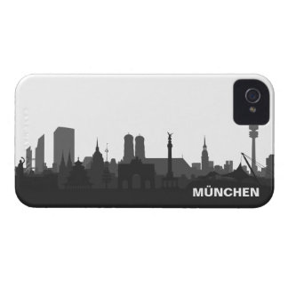 Munich skyline iPhone 4/4s sleeve/Case iPhone 4 Case