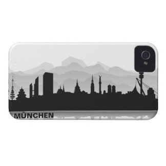 Munich skyline iPhone 4/4s sleeve/Case iPhone 4 Case-Mate Case
